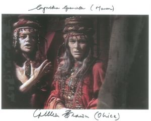 CYNTHIA GRENVILLE & GILLIAN BROWN (Doctor Who) Signed 10 x 8 Photograph #10051